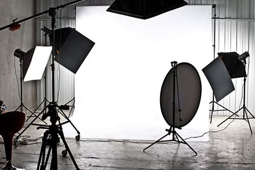 Fotostudio-Beleuchtung