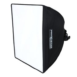proxistar Daylight 200 mit Softbox 40x40, E27