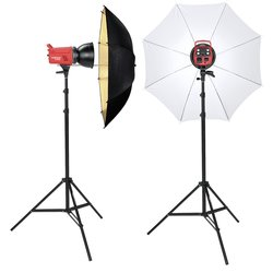 proxistar Studioblitz Kit KS-200/200 Portrait