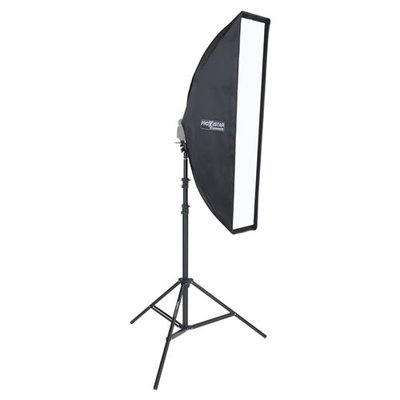 MobiFlash Systemblitzhalter Set ELARA mit Striplight Pro 30x120