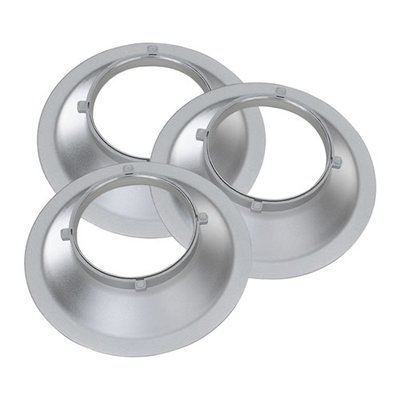 proxistar 3er Set Adapter-Ring für Multiblitz P Adapter