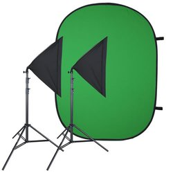 proxistar Video Greenscreen Set Einsteiger Flexi