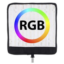 Biegsames flexibles RGB LED Leuchten Panel 34x32 cm, 50W