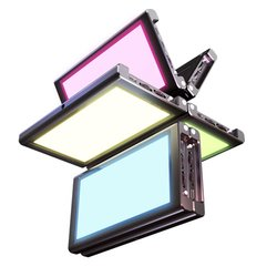 Pocketlight RGB LED Fold Videoleuchte